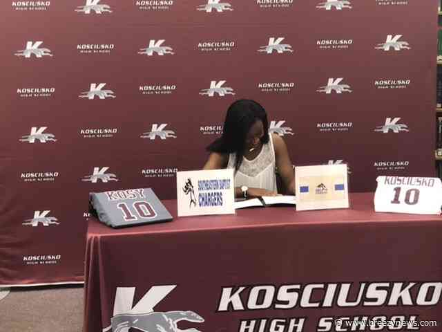 Another Whippet athlete signs to play college ball