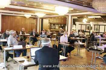 Diskussion mit Schutzvisieren: Erster Gemeinderat in Rosengarten seit der Corona-Pandemie - Rosengarten - Kreiszeitung Wochenblatt