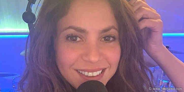 Shakira Reveals She's Recording Music Again!