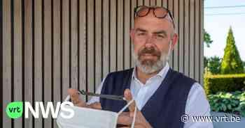 Pijnlijke mondmaskers? Cafébaas uit Maarkedal bedenkt siliconen hulpstuk - VRT NWS