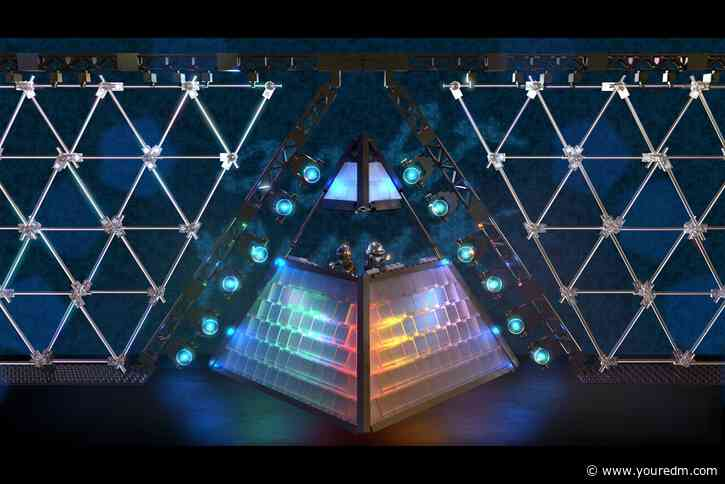 """Daft Punk Alive Pyramid Named Winner Of LEGO's """"Music to our ears"""" Contest"""