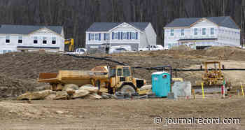 Homebuilders climb even as housing outlook remains cloudy