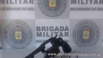 Brigada Militar de Cachoeira do Sul apreende revólver e munições no Bairro Funcap - Portal de Camaquã