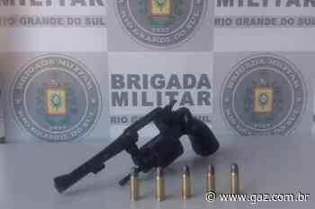 Arma de fogo furtada é apreendida em Cachoeira do Sul - GAZ
