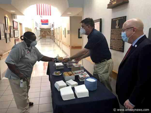 G.V. (Sonny) Montgomery Va Medical Center and Ms Veterans Affairs: A joint effort to combat Covid-19 at Kosciusko Veterans Home