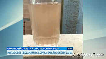 Moradores reclamam de qualidade da água em São José da Lapa (MG) - R7