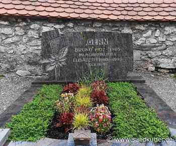 Grabstein für Heimatdichter Bruno Gern bleibt auf dem Friedhof in Storzingen ...   SÜDKURIER Online - SÜDKURIER Online