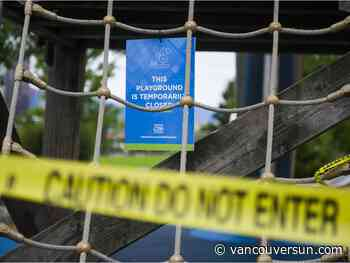 COVID-19: Metro Vancouver playgrounds to reopen Monday