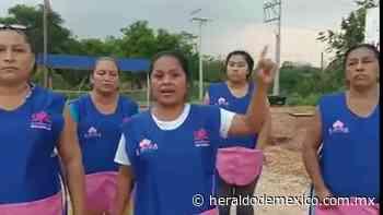"""""""Basta que nos quieran ver la cara"""": Costureras de Macuspana mantendrán resistencia civil - El Heraldo de México"""