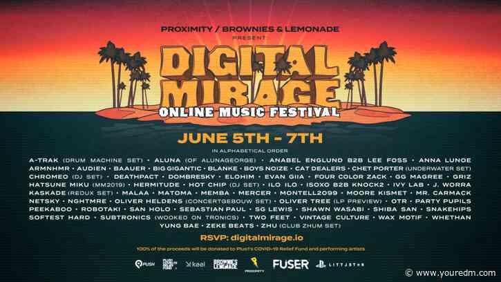 Digital Mirage Announces Second Festival With Boys Noize, Hatsune Miku, Subtronics & More