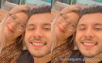 """Marilia Mendonça diz que Murilo Huff é """"paz e amor"""": """"Me deixa brigando sozinha"""" - QUEM Acontece"""