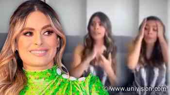 Galilea Montijo aprende cómo decirle al marido que le regale 15 minutos 'de oxígeno' durante el encierro - Univision
