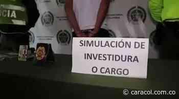 VIDEO: Capturan falso policía en Piedecuesta - Caracol Radio