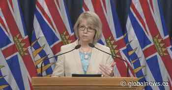 British Columbia health officials to provide Thursday coronavirus update