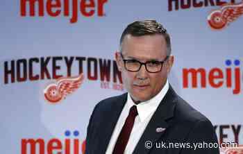 Yzerman-led Red Wings sticking to long-term plan to rebuild