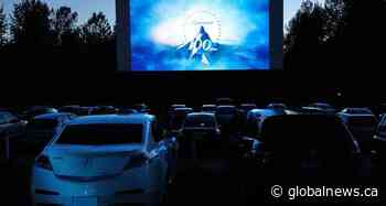 Drive-in movie theatre in Langley, B.C., conforms to 50-vehicle limit under COVID-19