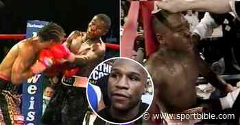 How A Journeyman Bloodied Floyd Mayweather's Nose In His 'Toughest' Ever Fight - SPORTbible