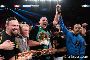 Tyson Fury plans to surpass Mike Tyson, Floyd Mayweather and Canelo Alvarez with historic multi-million - talkSPORT.com