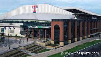 Texas Gov. Greg Abbott announces that professional sports leagues can return with 25 percent stadium capacity