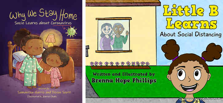 New books by Redlands-area authors encourage families to talk about coronavirus