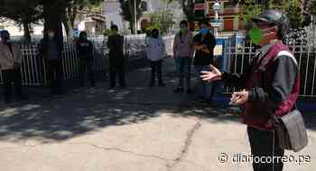 80 obreros de proyecto de saneamiento en Llata no cobran desde enero - Diario Correo