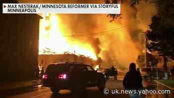 Violence rocks Minneapolis after George Floyd's death