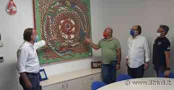 La Scuola Mosaicisti dona un mosaico ai Donatori di Sangue di Spilimbergo - Il Friuli