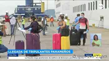 Provincias Arriban a Colón 25 panameños que se mantenían a bordo de un crucero - TVN Panamá