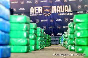 Cuatro aprehendidos por incautación de 1055 paquetes de droga en Colón - En Segundos