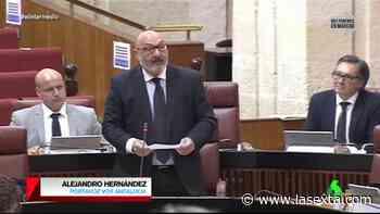 Vuelve la foto de Colón: así descalificaba Vox a la Comisión de Reconstrucción de Andalucía que ahora presidirá gracias a PP y Cs - LaSexta