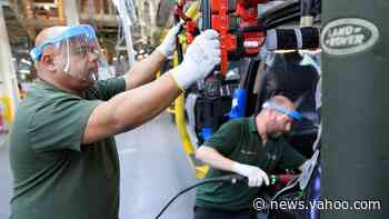Coronavirus: UK sees almost no car manufacturing in April