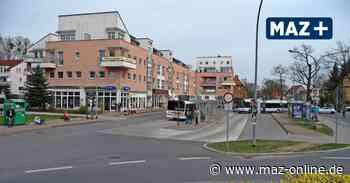 Lückenschluss am Busbahnhof Waldschänke - Stahnsdorf lehnt massiven Bauriegel ab - Märkische Allgemeine Zeitung