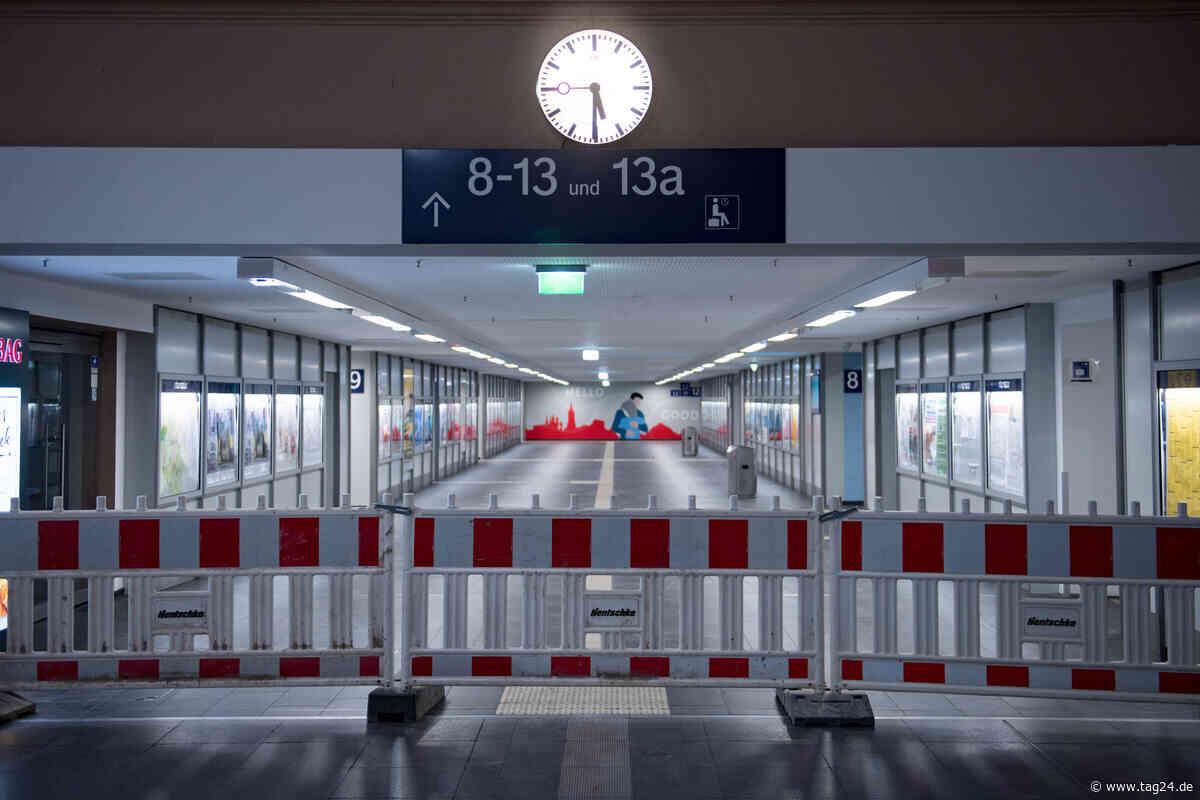 Hauptbahnhof Halle: Einsatz von Spezialkräften wegen Plastikbeutel - TAG24