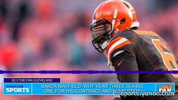 Baker Mayfield: Year 3 is big for his, Cleveland Browns future - Yahoo Sports