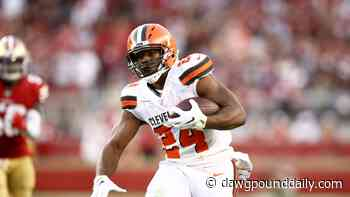 Cleveland Browns running back Nick Chubb named most unstoppable force - Dawg Pound Daily
