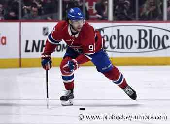 Playoff Notes: Drouin, Domi, Robertson - prohockeyrumors.com
