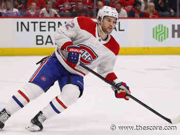 Canadiens' Drouin cleared to return for play-in round - theScore