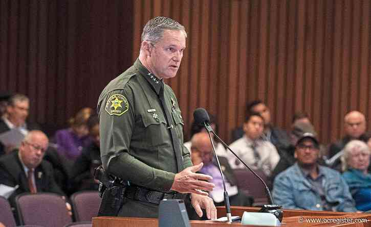 Orange County Sheriff: 'The death of George Floyd was wrong'