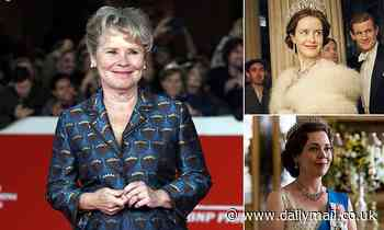 BAZ BAMIGBOYE: Life is a Dolly mixture for Queen Imelda Staunton on stage and screen