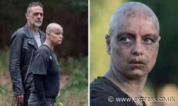 The Walking Dead's Samantha Morton 'in trouble' after shock Alpha transformation backfires - Express