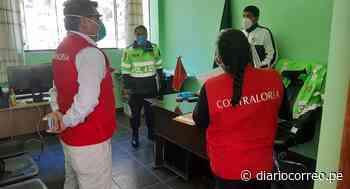 Contraloría comienza operativos a comisarías de Huancavelica - Diario Correo