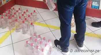 Farmacias vendían alcohol sin registro sanitario - Diario Correo