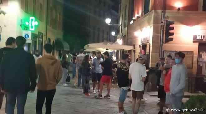 """La movida """"esplode"""" in riviera, a Sestri Levante lo sfogo della sindaca: """"Così non va"""" - Genova24.it"""