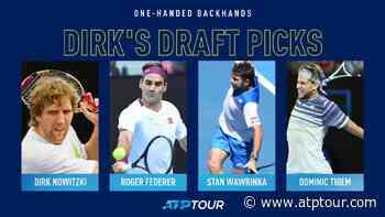 Dirk Nowitzki Eyes Roger Federer's Backhand, Among Others - ATP Tour