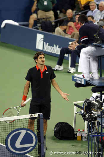 """""""Don't Give Me That Sh*T"""" – When Roger Federer Ranted With The Chair Umpire - Essentially Sports"""