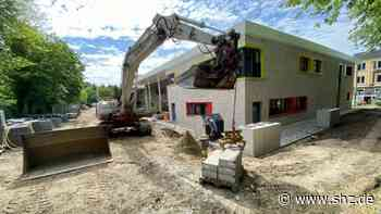 Neubau in Itzehoe: Kita Mose trotz Corona gut im Zeitplan | shz.de - shz.de