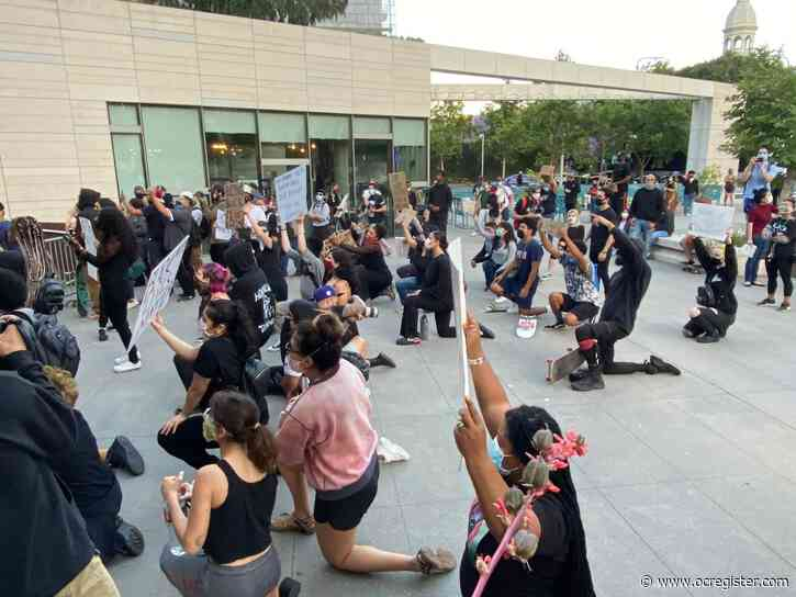 Protesters return to streets Thursday night in Los Angeles over killing of George Floyd