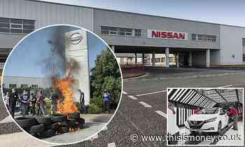 Nissan car production in Europe will be centred at Sunderland plant - This is Money