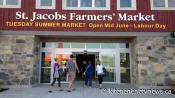 St. Jacobs Farmers' Market expected to reopen next week - CTV News