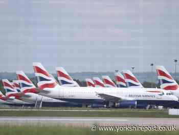 British Airways confirms it has suspended flights to Leeds Bradford Airport - Yorkshire Post